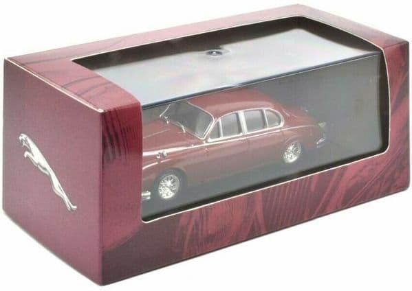 Atlas KL32 1/43 Scale Classic Sports Cars Jaguar Mk2  1960  Maroon  Red Morse